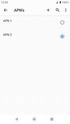 Sony xperia-xz-premium-g8141-android-pie - Internet - Handmatig instellen - Stap 18