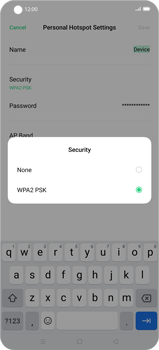 Oppo Find X2 Pro - WiFi - How to enable WiFi hotspot - Step 8