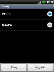 LG C660 Optimus Pro - E-mail - e-mail instellen: POP3 - Stap 8
