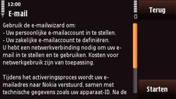 Nokia N97 Mini - E-mail - Handmatig instellen - Stap 8
