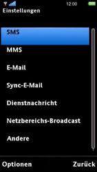 Sony Ericsson U5i Vivaz - SMS - Manuelle Konfiguration - 5 / 14