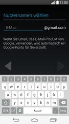 LG D855 G3 - Apps - Konto anlegen und einrichten - Schritt 7
