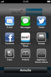 Apple iPhone 3GS - Internet e roaming dati - Uso di Internet - Fase 9