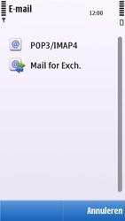 Nokia C5-03 - e-mail - handmatig instellen - stap 9