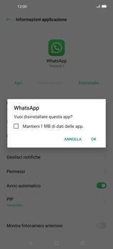 Oppo Find X2 - Applicazioni - Come disinstallare un