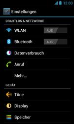 ZTE Blade III - WiFi - WiFi-Konfiguration - Schritt 4