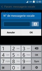 Samsung G318H Galaxy Trend 2 Lite - Messagerie vocale - Configuration manuelle - Étape 7