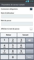 LG Optimus F6 - E-mails - Ajouter ou modifier un compte e-mail - Étape 12