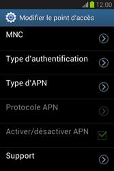 Samsung Galaxy Fame Lite - MMS - Configuration manuelle - Étape 13
