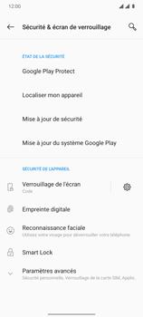 OnePlus 7T - Sécuriser votre mobile - Activer le code de verrouillage - Étape 12