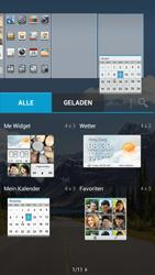 Huawei Ascend G526 - Startanleitung - Installieren von Widgets und Apps auf der Startseite - Schritt 6