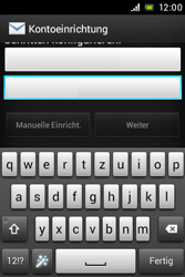 Sony Xperia E - E-Mail - Konto einrichten - Schritt 6