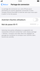 Apple iPhone SE (2020) - WiFi - Comment activer un point d'accès WiFi - Étape 6