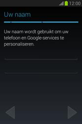 Samsung S6790 Galaxy Fame Lite - apps - account instellen - stap 8