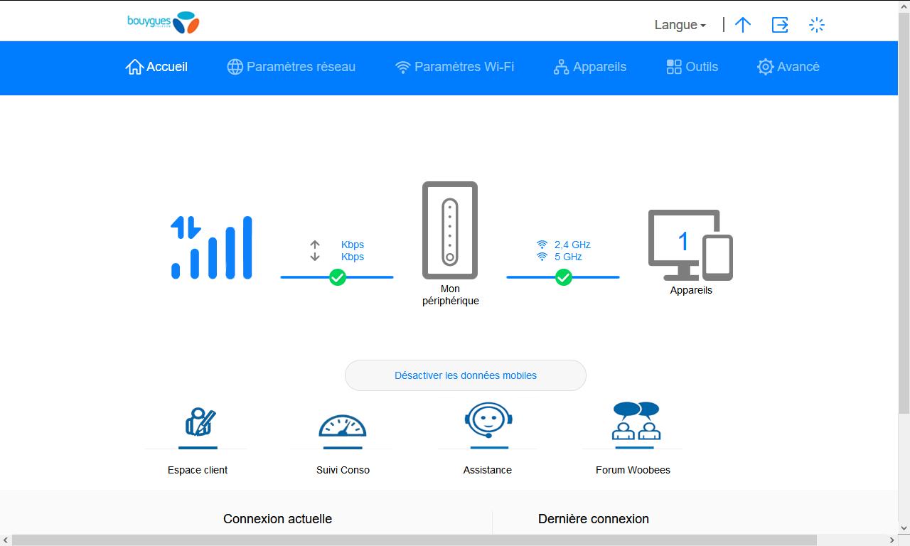 Huawei B628 - Sécuriser votre mobile - Personnaliser le code PIN - Étape 2