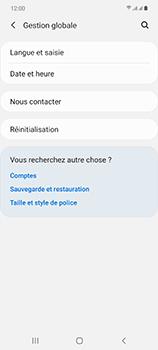 Samsung Galaxy Note 20 5G - Prise en main - Comment ajouter une langue de clavier - Étape 5