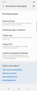 Samsung Galaxy Z Flip Single-SIM + eSIM (SM-F700F) - Beveiliging en ouderlijk toezicht - Hoe wijzig ik mijn SIM PIN-code - Stap 5