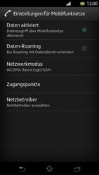 Sony Xperia T - Internet und Datenroaming - Deaktivieren von Datenroaming - Schritt 7