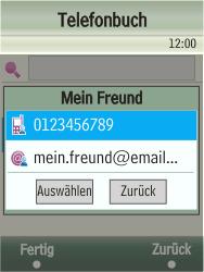 Samsung TouchWiz - MMS - Erstellen und senden - 1 / 1