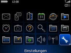 BlackBerry Curve - Fehlerbehebung - Handy zurücksetzen - 5 / 13