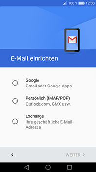 Huawei P9 Plus - E-Mail - Konto einrichten (gmail) - Schritt 7