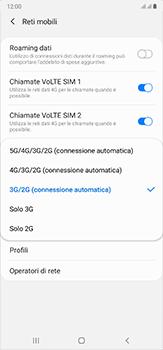 Samsung Galaxy Note 20 Ultra 5G - Rete - Come attivare la connessione di rete 4G - Fase 7