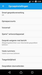 Sony Xperia Z5 - Android Nougat - Voicemail - handmatig instellen - Stap 8