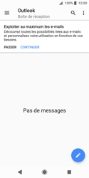 Sony Xperia XZ2 Compact - E-mail - Configuration manuelle (outlook) - Étape 5