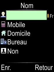 Doro Phone Easy 612 - Contact, Appels, SMS/MMS - Ajouter un contact - Étape 5