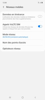 Samsung Galaxy A51 5G - Internet et connexion - Activer la 4G - Étape 8