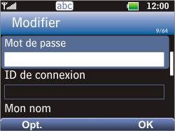 LG C360 Golf - E-mail - Configuration manuelle - Étape 14