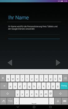 Huawei MediaPad T1 (10.0) LTE - Apps - Konto anlegen und einrichten - 1 / 1