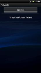 Sony Xperia Arc - E-mail - E-mails verzenden - Stap 4