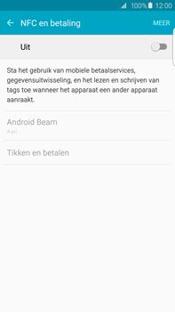 Samsung Galaxy S6 edge+ (SM-G928F) - NFC - NFC activeren - Stap 5