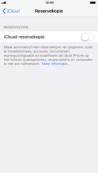 Apple iPhone 6 - iOS 11 - toestel resetten - back-up maken met jouw account - stap 10