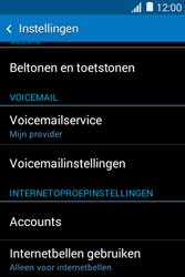 Samsung Galaxy Young 2 (G130HN) - voicemail - handmatig instellen - stap 5