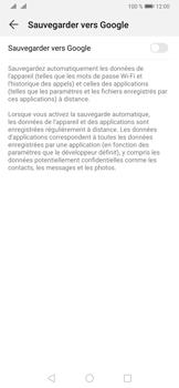 Huawei P30 Pro - Données - Créer une sauvegarde avec votre compte - Étape 6