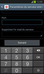 Samsung Galaxy Trend Lite - E-mail - configuration manuelle - Étape 10