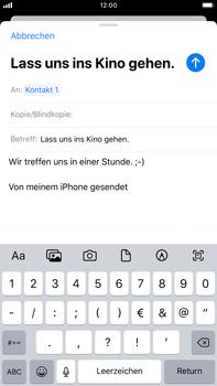 Apple iPhone 7 Plus - iOS 13 - E-Mail - E-Mail versenden - Schritt 8