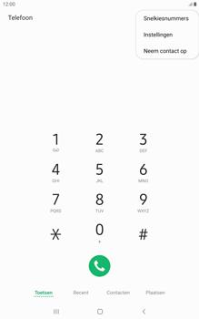 Samsung galaxy-tab-a-8-0-lte-2019-sm-t295 - Voicemail - Handmatig instellen - Stap 6