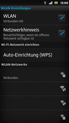 Sony Xperia U - WLAN - Manuelle Konfiguration - Schritt 9