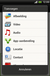 HTC A320e Desire C - MMS - afbeeldingen verzenden - Stap 8