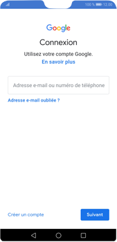 Huawei P20 Pro Android Pie - E-mail - 032a. Email wizard - Gmail - Étape 8