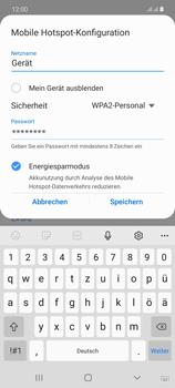 Samsung Galaxy Note 20 5G - WiFi - So aktivieren Sie einen WLAN-Hotspot - Schritt 9