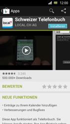 Sony Xperia U - Apps - Installieren von Apps - Schritt 7