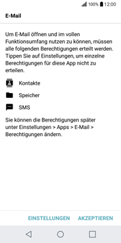 LG Q6 - E-Mail - Konto einrichten - 2 / 2