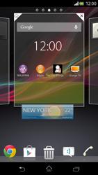 Sony Xperia V - Prise en main - Installation de widgets et d
