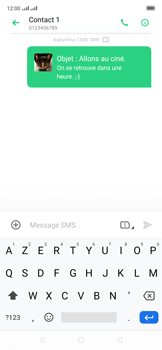Oppo Reno 2Z - Contact, Appels, SMS/MMS - Envoyer un MMS - Étape 22