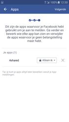 Samsung Galaxy S7 - Privacy - Privacy instellingen van Facebook aanpassen - Stap 16