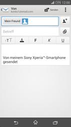 Sony D5103 Xperia T3 - E-Mail - E-Mail versenden - Schritt 8